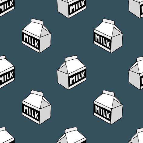 milk carton fabric by littlearrowdesign on Spoonflower - custom fabric