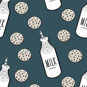 milk and cookies || milk jug