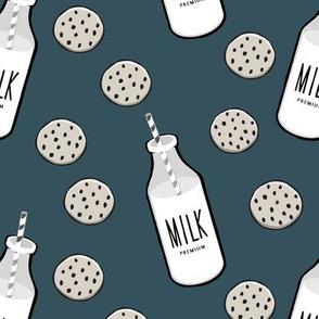 milk and cookies || milk jug