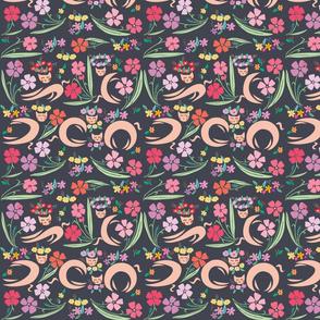 Cats Flower02