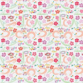 Cats Flower01