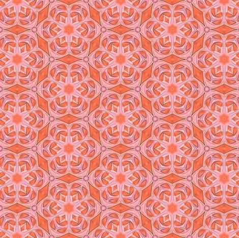 Flamingo basic tile fabric by susiprint on Spoonflower - custom fabric
