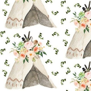 Tepee with Branches