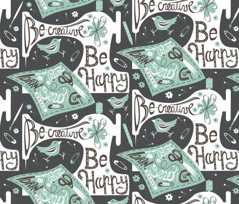 spoonflower-grey fabric by gaiamarfurt on Spoonflower - custom fabric