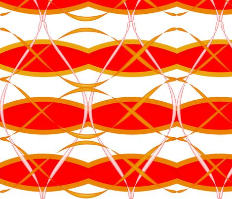 Drummer Boy Ribbons fabric by gnarllymamadesigns on Spoonflower - custom fabric