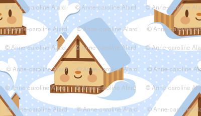 Cute alpine chalet