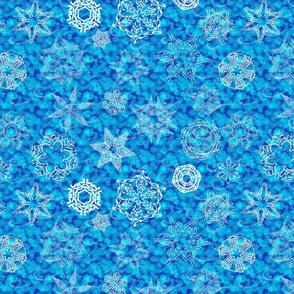 hidden word snowflakes