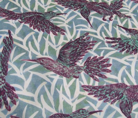 Rleaf_and_hummingbirds_pattern_-_purple_spoonflower_comment_840282_preview