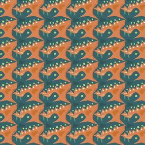 Strange creatures pattern