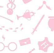 Pastel Potter - Pink & White