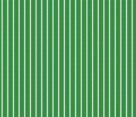 Holiday Hexies Green Stripe fabric by anniecdesigns on Spoonflower - custom fabric