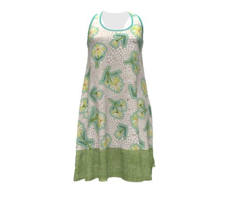 linen weave - green grass