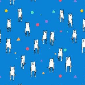 Blue Cat Pattern