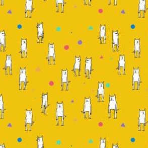 Yellow Cat Pattern