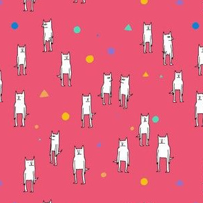 Red cat Pattern