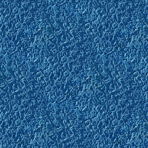 Blue stucco