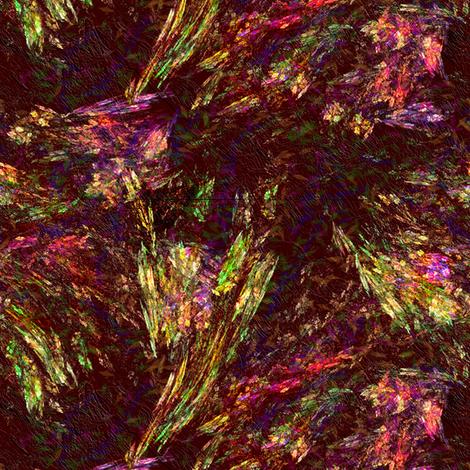 Spelunking crystals fabric by wren_leyland on Spoonflower - custom fabric