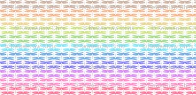 dragonfly shimmer stripe horizontal