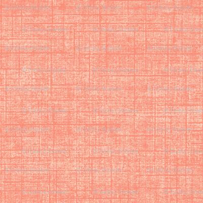 linen weave - tangerine