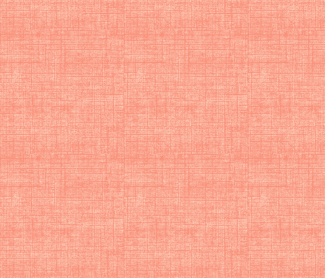linen weave - tangerine fabric by designed_by_debby on Spoonflower - custom fabric