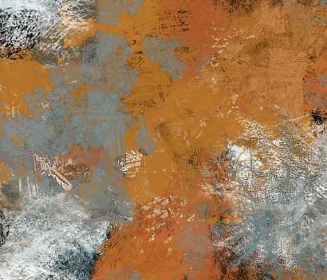 paint- tan ochre fabric by wren_leyland on Spoonflower - custom fabric