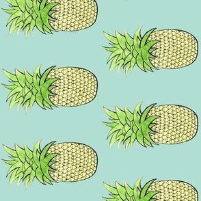 Bright Pineapple- flipped!