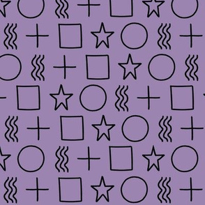 ESP test purple