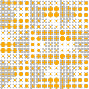 Dots on Dots - Orange
