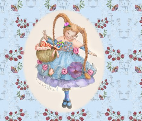 Rrr2016-10raspberriespatternpskarlibluespoonflower_shop_preview