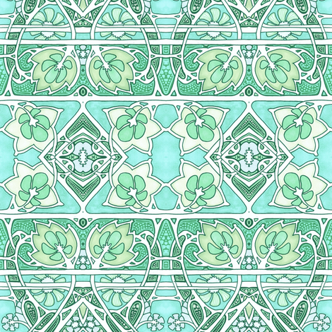 A Wearing of the Green fabric by edsel2084 on Spoonflower - custom fabric