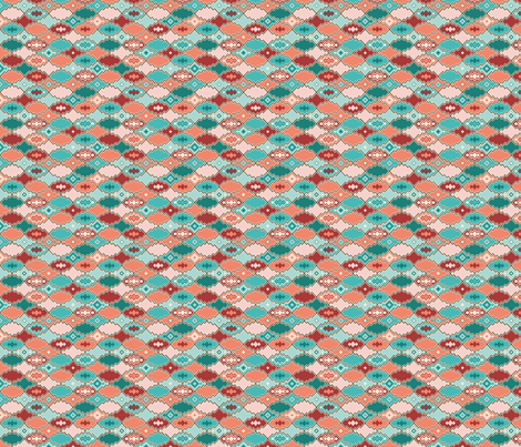 Sahara Pacific - small fabric by bear_bell on Spoonflower - custom fabric