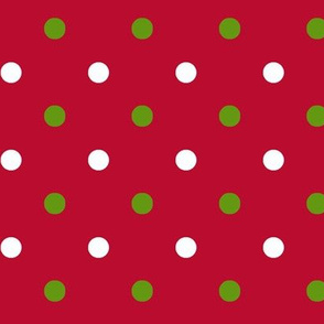 Red Christmas Dot