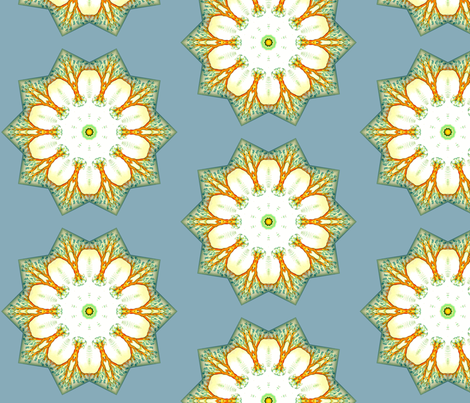 The Beauty of Snow fabric by floramoon on Spoonflower - custom fabric