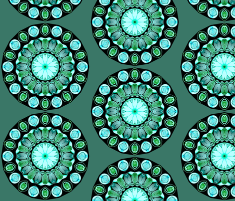 Sea Glass fabric by floramoon on Spoonflower - custom fabric