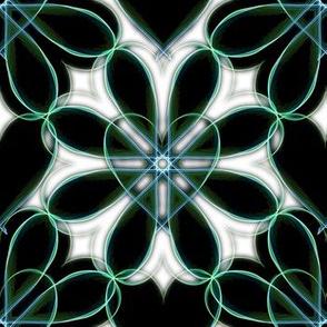 Heart Weavesilk Floral
