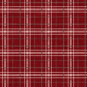Christmas Red Plaid