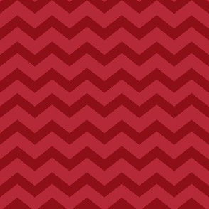 Christmas Red Chevron