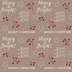 Merry & Bright Beige