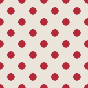 Christmas Red Dots