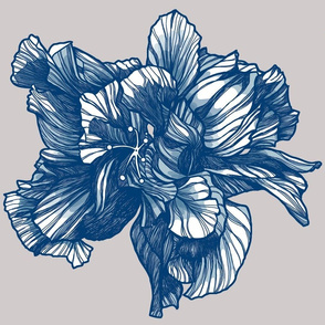 Hibiscus_Fabric_Delft_Blauw_centered