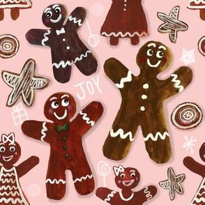 Gingerbread Party - Pink