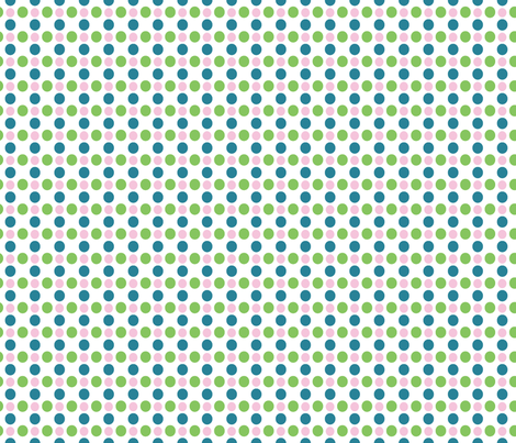 Polka dots fabric by designsbyismatshahid on Spoonflower - custom fabric