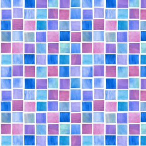 Squares in Blueberry