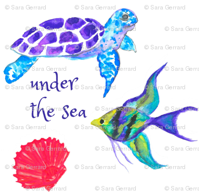 Under the sea-scape