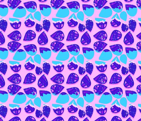 Echo Park | Pink & Blue fabric by hleemessina on Spoonflower - custom fabric