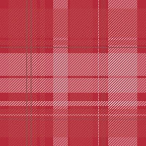 Lumberjack plaid - Red and White