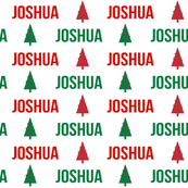 personalized christmas names cute peronsalised christmas fabric red and green christmas xmas design