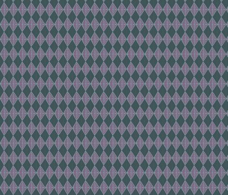 Harlequin Diamond Tree Top fabric by laine_and_leo on Spoonflower - custom fabric