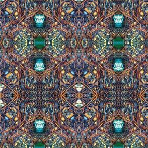 Sea weed, kelp abstraction