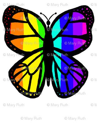 Rainbow Butterfly 2